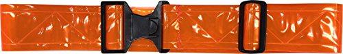 FireForce Military 3M Hi Visibility Reflective Belt, Durable, Weather Resistant PT Belt Made in USA (Red-Orange)
