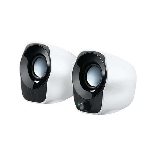 Lautsprecher Z120, schwarz/weiss, tragbar, Gesamtleistung 1,2 Watt,