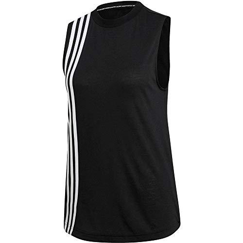 Adidas Damski bezrękawnik MH 3S, czarny/biały, 2XL