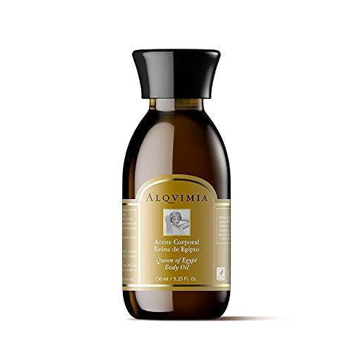 Alqvimia | Aceite Corporal Reina de Egipto | Queen of Egypt Body Oil | Aceite Reafirmante y Nutritivo para Resaltar la Belleza de la Mujer | 150 ml