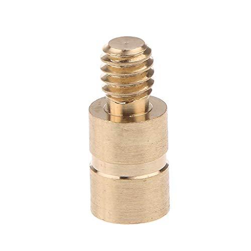 GPP Arrow Point Brass Inserts Copper Arrow .244/6.2mm,24 PK Inserts + Weights