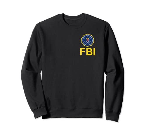 Camisa del FBI, logotipo del sello del pecho del FBI, logotipo federal del sello del pecho de la investigacin Sudadera