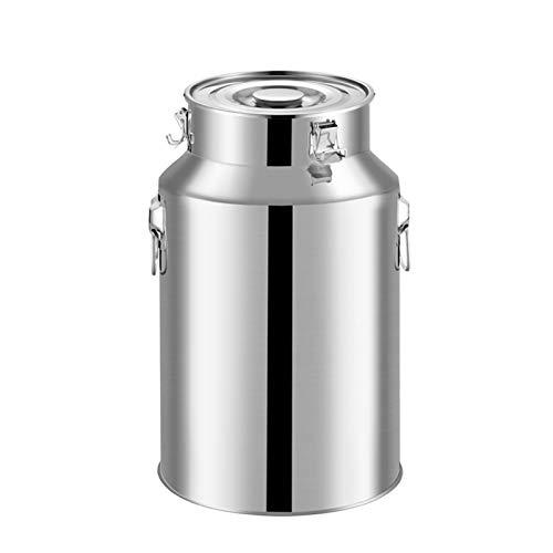 Acero Inoxidable Mini Lechera Crema Jarro, Pot Compartimiento con la Tapa Sellada de Altas Prestaciones for el té Servicio de Café (tamaño : 35L)