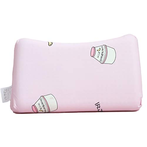 Baby Pillow Latex Pillow/For Toddler Baby Head Shaping Prevent Flat Head Syndrome Breathable (1-10 Years Old),4