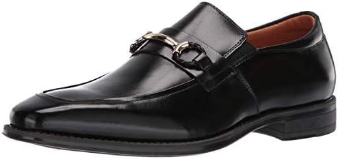 STACY ADAMS Men s Pierce Moe Toe Slip on Penny Loafer Black 15 M US product image