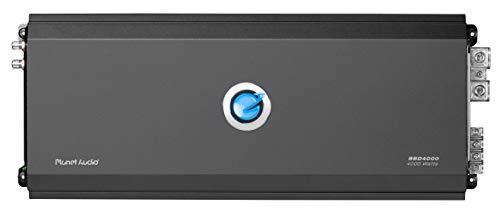 Planet Audio BBD4000 Class D Car Amplifier – 4000 Watts, 1 Ohm Stable, Digital, Monoblock, MOSFET Power Supply