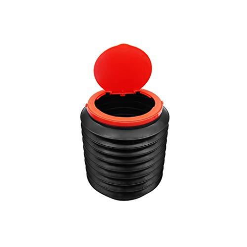 TXXM Papelera Papelera de Coches Coche Multifuncional Plegable Coche telescópica Superior del Cubo de Agua del Coche artículo Almacenamiento artículo (Color : Covered)