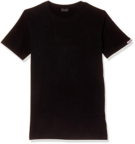 Camiseta Diesel Umtee-Randal para hombre - negro - Large