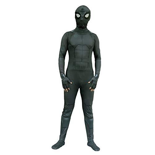 Luxe Movie verbazingwekkende spiderman Battle Costume Adult Kids Superhero Cosplay Panty's Jumpsuit Suit Fancy Dress Prom SPIDERSYBB