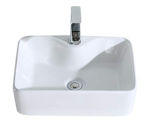 Eridanus, Serie Rufus, Aufsatz Waschbecken, Keramik Handwaschbecken, Waschtisch