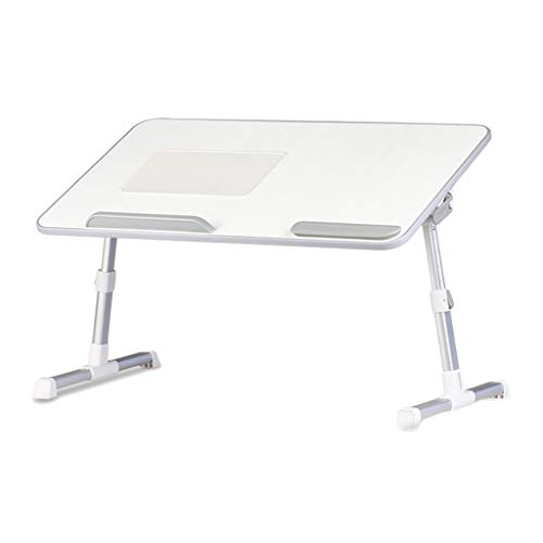 Support de Levage Pliable Paresseux de lit de Table avec Ventilateur LCSHAN (Size : Pearl White A8L)