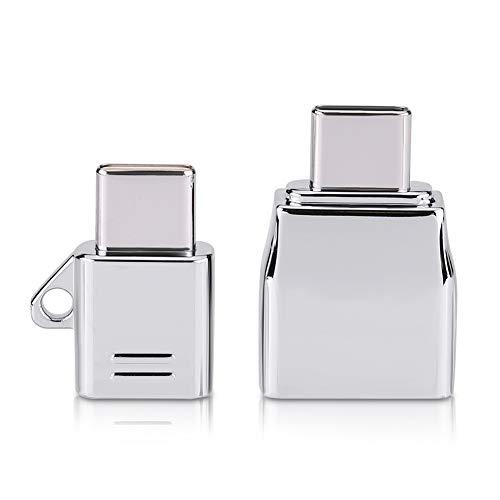 Astibym Adaptateur Compact Micro USB Ensemble d'adaptateurs USB pour téléphone Portable