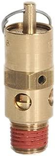 Midwest Control SA25-110 ASME Hard Seat Safety Valve, 110 psi, 1/4