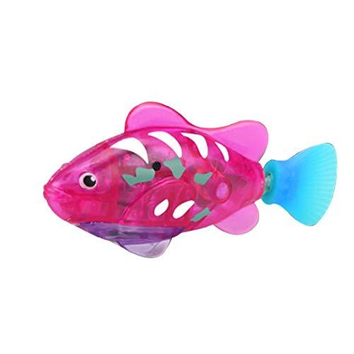 Natación pez Robot, Activado y Agua Mágico niños de Juguete electrónico de Regalo Infantil, Mini Realista robótico de Pescado, Pescado batería