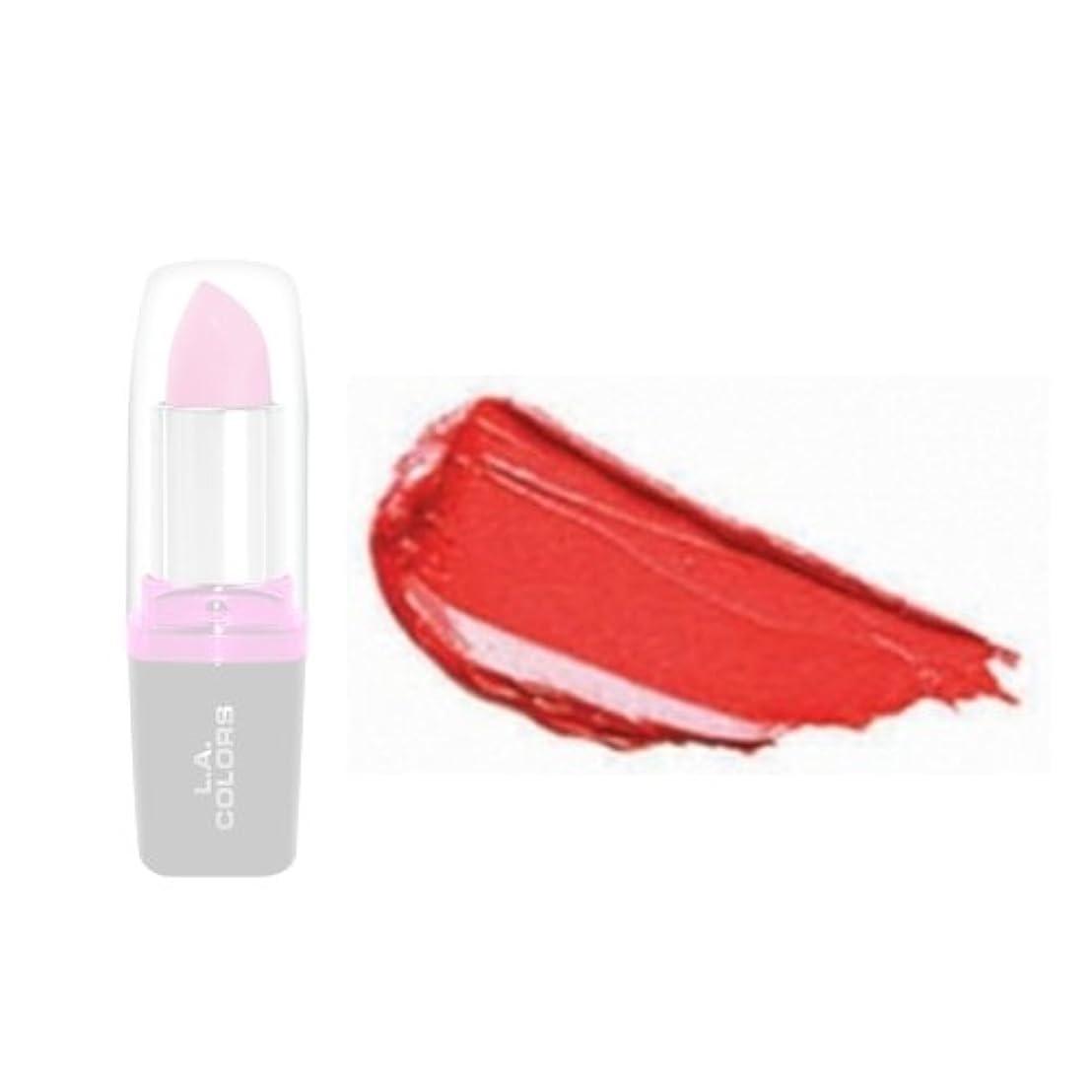輪郭マイルド相手LA Colors Hydrating Lipstick - Hottie (並行輸入品)