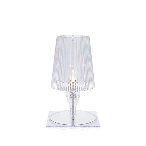 Kartell 9050B4 bedlampje Take, glashelder