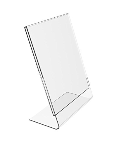 Lowest price challenge New Purchase Acrylic Counter Top Sign Holder 8.5