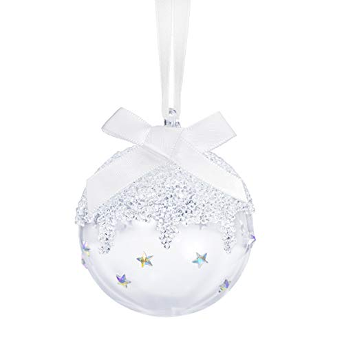 Swarovski Small Christmas Ball Ornament 2020, Limited Edition; Swarovski Crystal Tree and Home Ornament