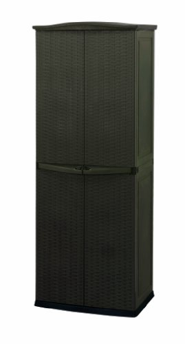 Keter Rattan Style Utility Shed, braun