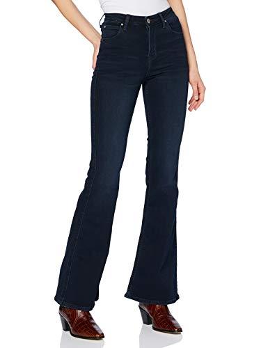 Lee Breese Jeans, Ebony Desgasta, 25/33 para Mujer