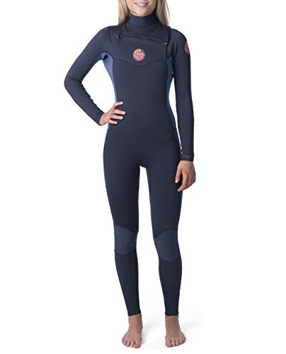 Rip Curl Dawn Patrol Wetsuit | Women's Neoprene Full Suit Chest Zip Wetsuit for Surfing