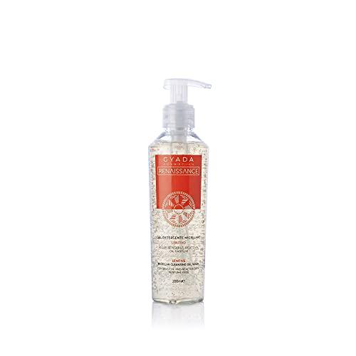 Gyada Cosmetics Gel Detergente Micellare Lenitivo ● Certificato Bio ● Made in Italy ● 200 ml