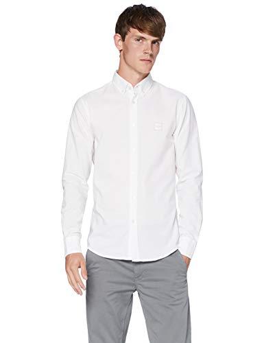 BOSS Mabsoot_1 10195830 01 Camisa, White100, M para Hombre