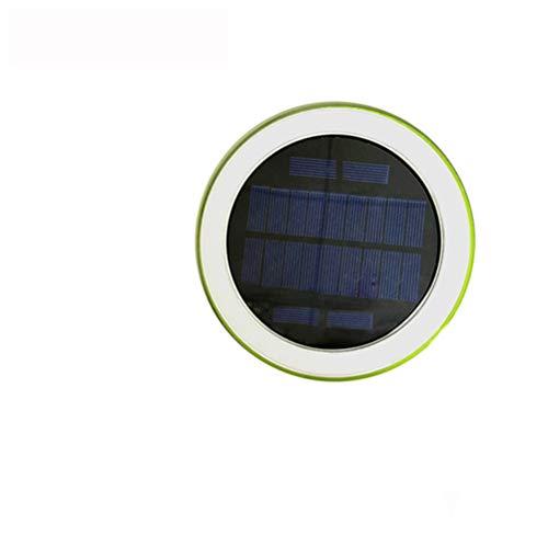 Uonlytech Luz de la piscina sumergible a prueba de agua con luz solar para piscina IP65 Luz colorida de la noche para la fiesta con control remoto