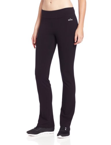 Spalding Women's Slim Fit Pant, Black, Medium