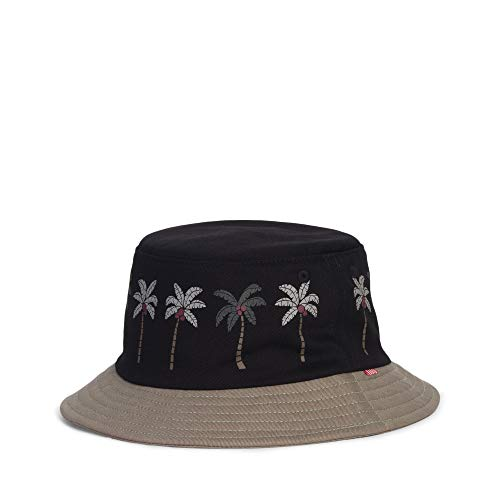 Lake Bucket Hat Youth Black Palm/Shadow