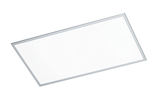 WOFI Deckenleuchte, 1-flammig, Serie Liv, 1 x LED, 50 W, Breite 60 cm, Höhe 5.5 cm, Tiefe 120 cm, Ke