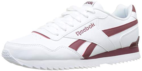 Reebok heren ROYAL Glide RPLCLP Gymnastics Shoe, White/Collegiate Burgundy, 48,5 EU