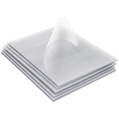 TruBind Binding Covers for Reports and Presentations - Crystal Clear PVC - 5 Mil Thick - Letter Size - 8 1/2 inch x 11 inch - Square Corners - Includes Tissue Interleaving - 100/Bx (CVR-05AST)