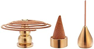 Buddha Incense Holder, Incense Cone Holder, Coil Incense Holder, Incense Stick Holder, 3 Styles.