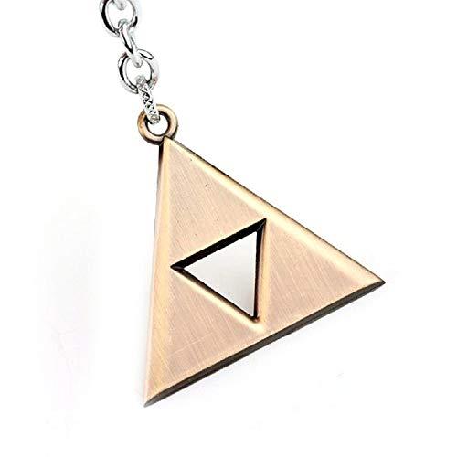 La leyenda de Zelda Inspired - Power Triforce llavero (dorado)
