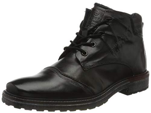 bugatti Herren 311382391100 Klassische Stiefel Kurzschaft Stiefel , Schwarz , 42 EU