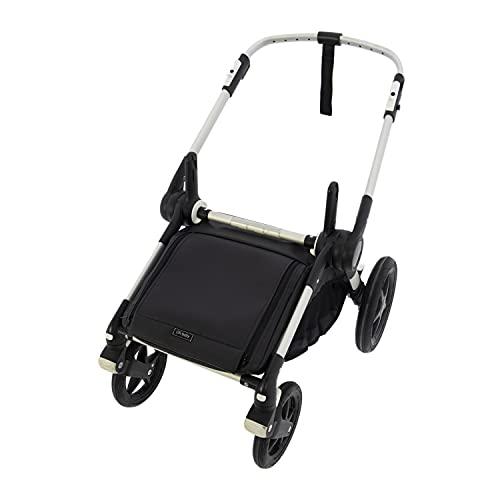 Cubre cesta impermeable para silla Rosy Fuentes - Muy útil para proteger sus cosas de la lluvia y suciedad (Exclusivo para Bugaboo Fox)-negro