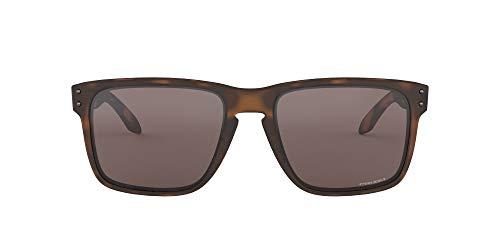 Oakley Men 's Holbrook XL no polarizado Iridio anteojos de sol cuadrados, color café mate tortuga, 59.0mm