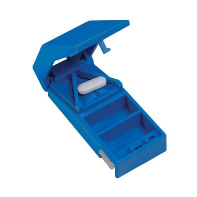 Aidapt Lockable Pill Cutter and Storer Ideal for Cutting Large Tablets