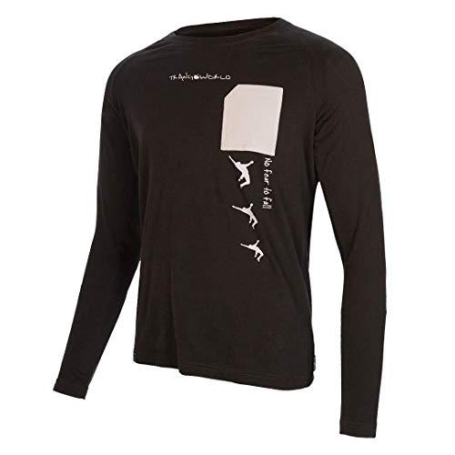 Trangoworld Arfe Camiseta, Hombre, Negro, XL