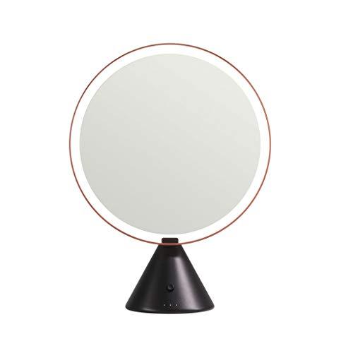 Mirror Miroir De Maquillage/Miroir De Coiffure/Miroirs Cosmétiques À Poser Miroir De Bureau LED Intelligent