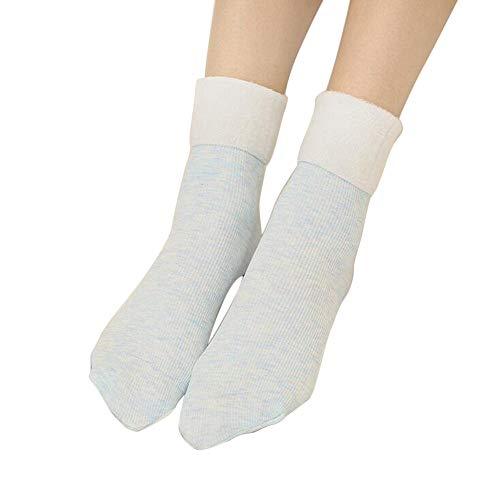 OSYARD Damen Socken,Sportsocken,Wollsocken, Frauen Winter Warme Socken Verdickung StricksockeBaumwolle Socken mit Innenfrottee Haussocken Norwegersocken Mid Tube Socken Sneakersocken