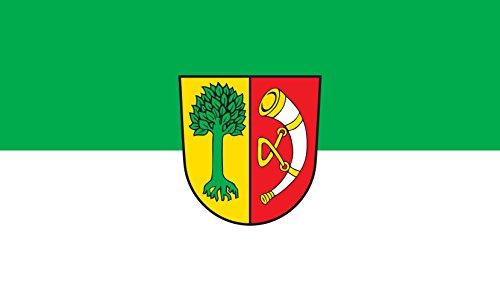 Unbekannt magFlags Tisch-Fahne/Tisch-Flagge: Friedrichshafen 15x25cm inkl. Tisch-Ständer