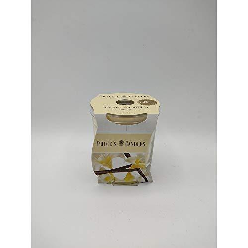 Pris ljus söt vanilj doftande ljus i glasburk i kluster