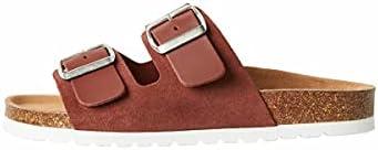 Vero Moda Vmcarla Leather Sandal, Donna