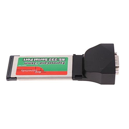 non-brand Express-Karte 34mm zu RS-232 Seriell Adapter ExpressCard Laptop/Notebooks