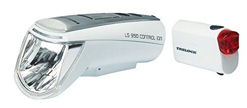 Trelock LI-ION Set LS 950 CONTROL LS720, weiß, 8004523
