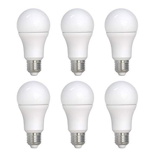 Umi by Amazon - Bombilla LED A70 con casquillo Edison E27, 14 W (equivalente a 100 W), 15 000 horas, blanco frío (4000 K) (paquete de 6)