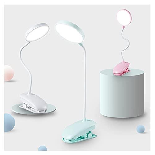 Lámpara de noche casera Lámpara de escritorio Lámparas de escritorio de sujeción para estudio-USB Multifunción Lámpara de escritorio LED flexible Cuello de cuello táctil Lámpara de mesa de atenuación