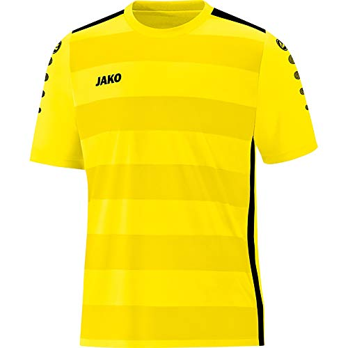 JAKO Herren Trikot Celtic 2.0 KA, Light Yellow/schwarz, 164